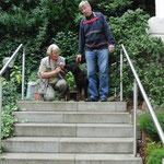 Barclay mit Ulla und Rolf
