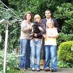 Amigo,genannt Bolle, mit Heidi, Maik, Kim und Pia