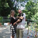 Benja mit Mayke und Maarten