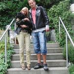 Casper mit Holger und Petra