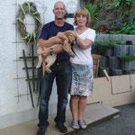 Carlo mit Kathi und Marcel