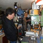 Verena Scheitz/ORF visits Franz Hauer