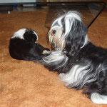 Lisha und Mama Ayana