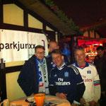 Teile des Teams v.r.n.l.:Klaus, Jens, Heiko und Thorsten