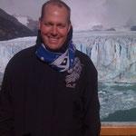 Heiko in Argentinien/Feuerland mit Schal