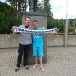 Jens mit Partner und Schal