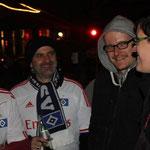 Klaus, Darko (hat gleich seinen Mann mitgebracht) und Britta