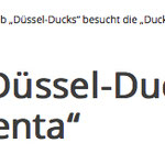 ENTEN-CLUB DÜSSEL DUCKS DUCKOMENTA WAZ