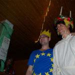 auch Europa und Lucia schauen vorbei