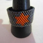 Ring aus Miyukibeads 1mm