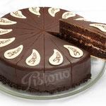 Sachertorte - Schokoladenböden mit Kuvertüre