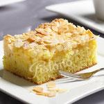 Buttermandelkuchen - feiner Rührteig