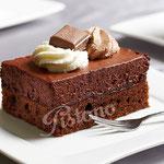 Schokoladensahneschnitte - ein Traum für Schokoladenfreunde