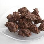 Knackige Mandelsplitter in Vollmilch-Schokolade
