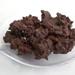 Knackige Mandelsplitter in Zartbitter-Schokolade