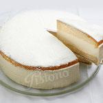 Käsesahne Torte - mit frischem Quark zubereitet