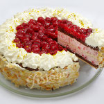 Himbeermascarpone Torte - ein fruchtiger Genuss