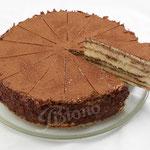 Tiramisu Torte - mit orginal italienischer Masqarpone