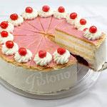 Holländerkirsch  Torte - mit feinen Blätterteigböden