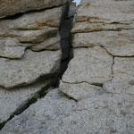 Der schmale Kamin ist eine Herausforderung, da praktisch nicht zum absichern (V)