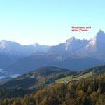 Herrliche Ausblicke ins Salzburger und Berchtesgadener Land