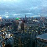 都庁からの眺め、東京タワーも見えました(^^)/