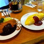 ヨシカミの洋食、美味しゅうございました!!