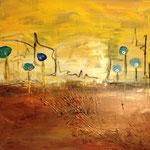 """Landschaft"" 40x40, sold"