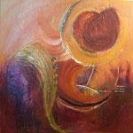 """""""Lady and Man"""", 70x80 Acryl auf Leinwand, VERKAUFT"""