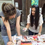 Neerja gibt Workshop