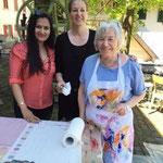 Neerja Bhatt, Stefanie und Ingrid Fischer