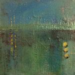 """Energie Grün/Blau"", Acryl auf Leinwand, 60x60, Preis auf Anfrage"