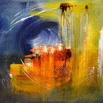 """Griechenland"" 70x80 Acryl auf Leinwand, sold"