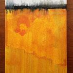 """""""Gelb"""", Acryl auf Leinwand 25x30 sold"""