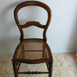 chaise Louis-philippe cannée
