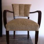 fauteuil bridge avec tissu Villanova