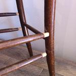 barreaux de chaise à recoller