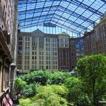 Das Foyer unseres Campingplatzes/Hotels/Casinos...