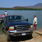 Bootsausflug auf der Lagune in Pie de la Cuesta