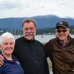 Mit Sandra und Bob in Port Moody