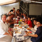 Autoreparatur mit Familienanschluss: Abschiedsessen für Linda