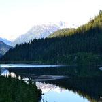 Fahrt zum Salmon Glacier