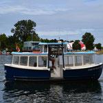 Unser Micro-Kreuzfahrtschiff ;-))
