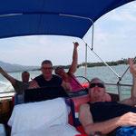 Bootsausflug mit unseren Freunden aus Irland