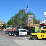 Seligman na der historischen Route 66