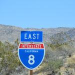 Kurze Durchfahrt von Kalifornien