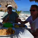 """Restaurant """"Chiquita"""" in Mahahual"""