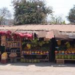 Obst- und Gemüsestand