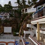 Zimmer und Restaurant des Hotel Mirador