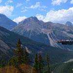 Glacier-Skywalk (25$, ich habe im Vorbeifahren allerdings keinen Gletscher gesehen)